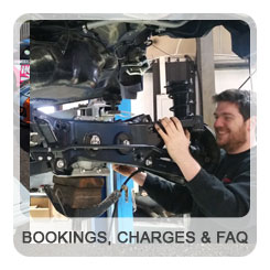 Bookings, Charges & FAQ's